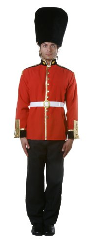 Dress Up America Adults Attractive Royal Guard Soldier Costume - Medium
