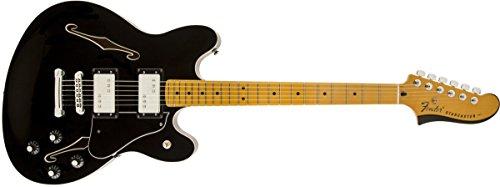 Fender Modern Player Starcaster, MN, Black