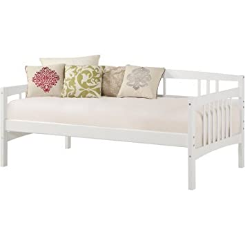 Amazon.com: Solid Wood Frame Twin Daybed Assembled: 77-1/4\