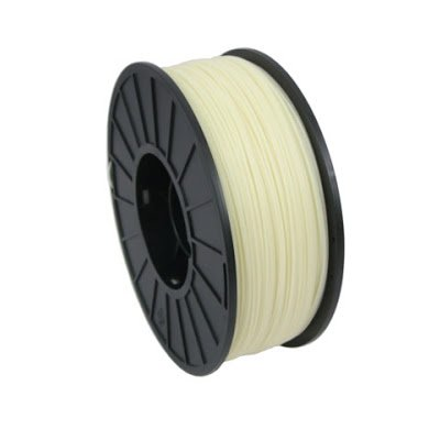 MatterHackers Natural PRO Series ABS Filament - 1.75mm (1 kg Spool) for 3D Printing