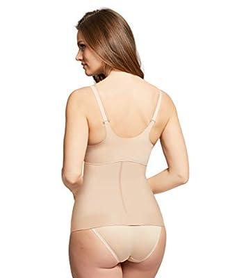 Montelle Women's Waist Cincher Shapewear Firm Control Slimming Body Shaper Tummy Control Shapewear Waist Cincher