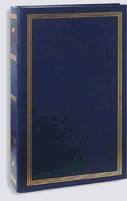 BUNDLE: 2/ALBUMS - Pioneer Stc46 Classic 3 Ring Photo Album with Solid Color Covers & Gold Trim, Holds 300 4