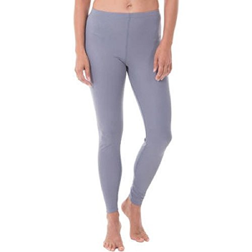 Fruit of the Loom Women's Pintec Baselayer Thermal Bottom Pant (M, Grey Flannel)