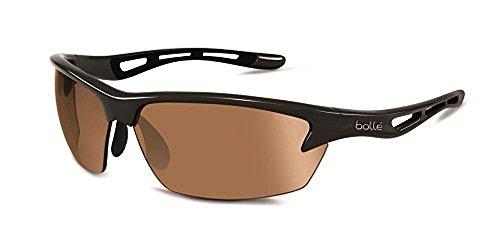 Bolle Bolt Sunglasses, Photo V3 Golf AF, Shiny Black (V3 Golf Lens Photo)