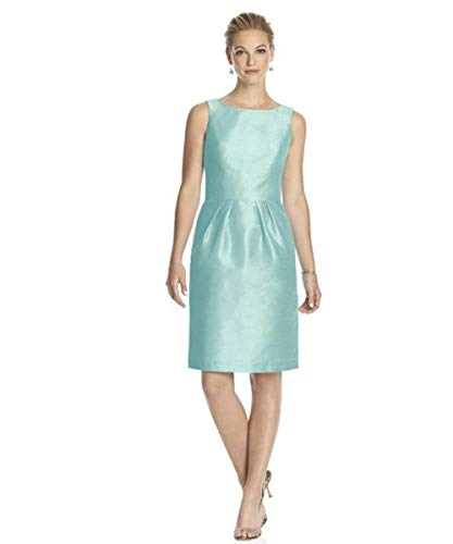 - Alfred Sung - D522 Cocktail Bridesmaid Dress