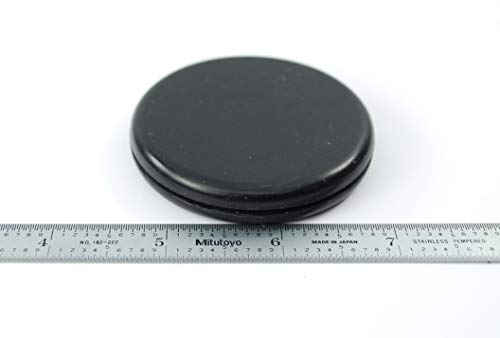 Rubber Hole Plug for 2'' Opening - for 1/16'' Thick Panel -''Grommet Without A Hole'' - Solid Flush Plug - Seals Opening in Metal Panels - Provides Finished Appearance on Both Sides of Panel (24) by Generic (Image #6)