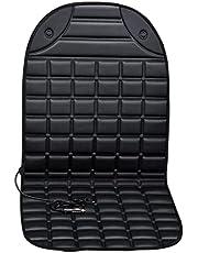 Verwarmde autostoelhoes, licht gevoerd, elektrisch verwarmend kussen, warm winterkussen met 2 warmtestanden, eenvoudig te bedienen bedieningsschakelaar en oververhittingsbeveiliging, 96 x 45 cm