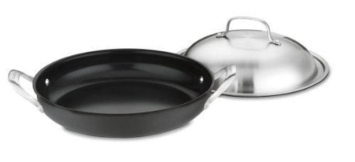 Cuisinart GG25-30D GreenGourmet Hard-Anodized Nonstick 12-Inch Everyday Pan with Cover by Cuisinart