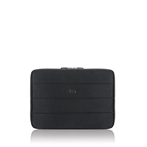 Solo Bond 13 Inch Padded Sleeve for MacBook, iPad Pro, Black ()