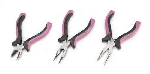Darice 1991-52 Jewelry Tools 3-Piece ()