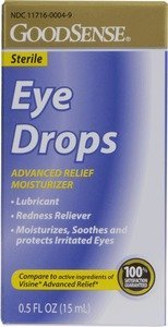 GoodSense(R) Eye Drops Advanced Relief Moisturizer . 5 oz