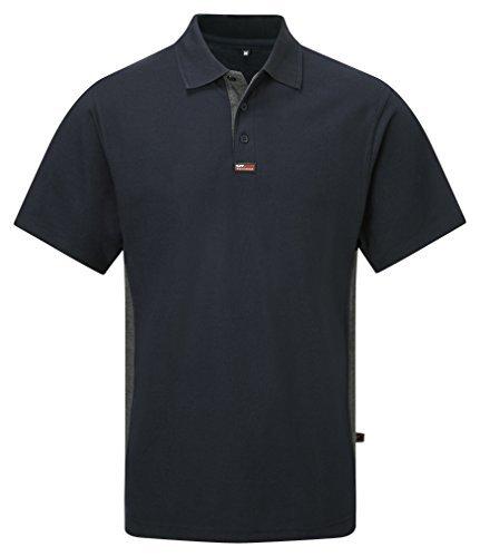 TuffStuff 134/NV-XXL 2X-Large TS Short Sleeve Polo Shirt - Blue by ...