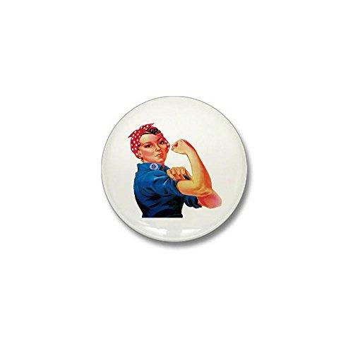 - CafePress Rosie the Riveter Mini Button 1