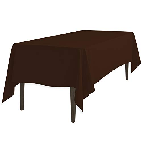 (LinenTablecloth 60 x 126-Inch Rectangular Polyester Tablecloth)