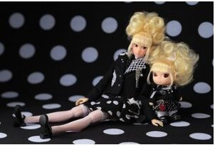 [Pre order momoko DOLL as KANA jacket New] (Thumbelina Wig)