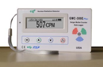 GQ GMC-300E-Plus Digital Geiger Counter Nuclear Radiation Detector Monitor Meter dosimeter Beta Gamma X ray data logger recorder realtime monitoring test equipment