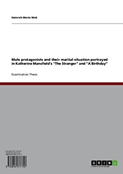 katherine mansfield male dominance Male protagonists and their marital situation in katherine mansfield's short  she  displays an obviously feminist position as she criticizes male dominance and.