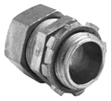 Bridgeport 252-DCI2 1-Inch Insulated Compression Connector, 10-Pack