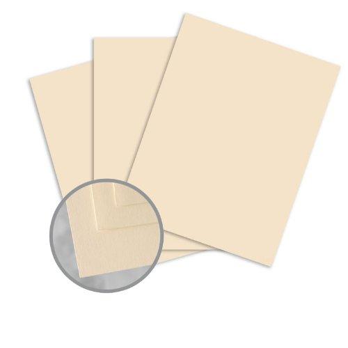 Via Satin Cream White Paper - 8 1/2 x 11 in 28 lb Writing Satin 30% Recycled 500 per Ream ()