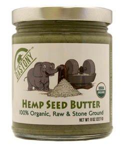 Dastony 100 Organic Hemp Seed Butter 8 oz 227 g