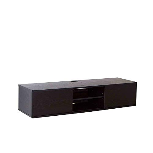 Wall Mounted Audio Video Console Wood Grain for Xbox Floatin