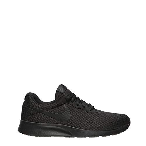 Nike Men's Tanjun Premium Running Sneaker Black/Black/Anthracite 10.5 (Shoes Nike Run Roshe Womens)