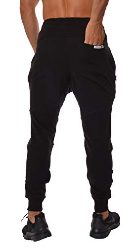 3947b453f41bf YoungLA French Terry Cotton Sweatpants Jogger Pants Black Small    Categories   Sports   Outdoors - tibs