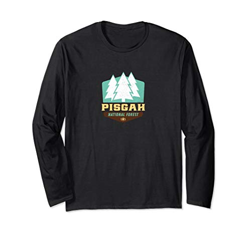 Pisgah National Forest New Vintage Logo Long Sleeve Shirt