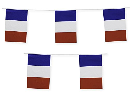 French Party Decorations (France Flag Banner French Party Decoration by Gabby Fun Corp)