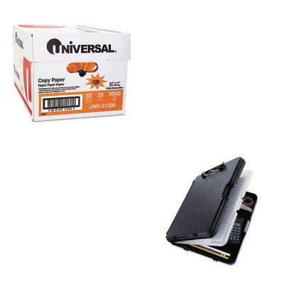 KITSAU00552UNV21200 - Value Kit - Saunders WorkMate II Storage Clipboard (SAU00552) and Universal Copy Paper (UNV21200)