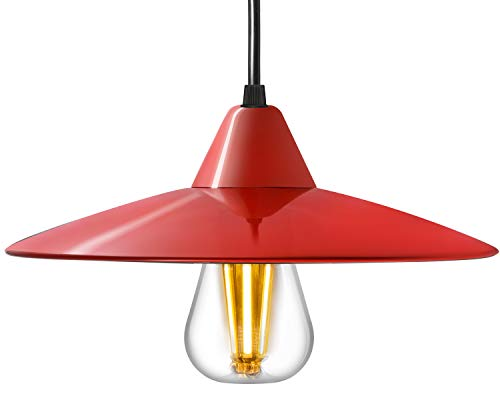 Kitchen Pendant Light Red in US - 4