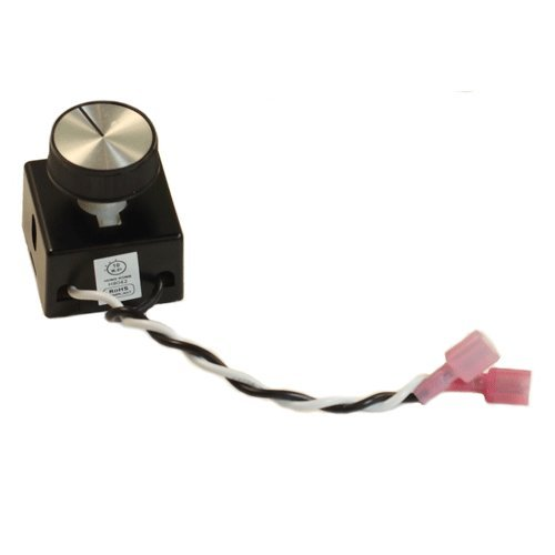 FireplaceBlowersOnline AC Motor Rheostat Variable Speed Control for Fireplace Blowers and Fan Kits   Full Range RPM Speed Adjustment with ON and Off Positions by FireplaceBlowersOnline