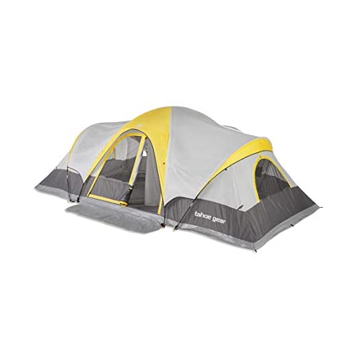 Tahoe-Gear-Manitoba-14-Person-20-x-17-Family-Outdoor-Camping-Tent-with-Rainfly