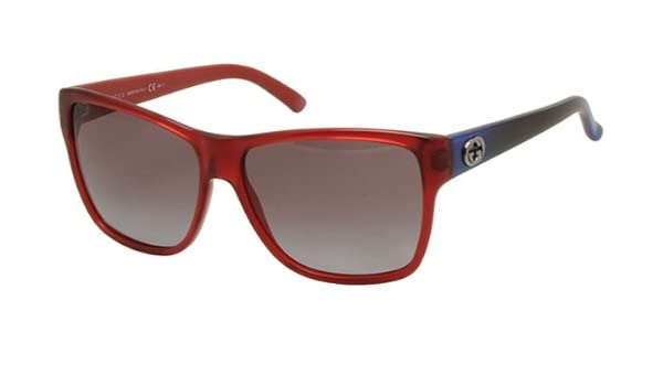 c9bffbd275a35 Gucci GG 3579 S L53YE Sunglasses Transparent Red Blue 3579S  Amazon.ca   Beauty