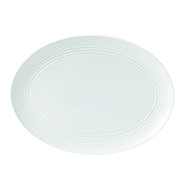 Royal Doulton Maze Oval Platter, 17 , White