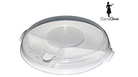 Juego de platos de microondas, 3Plato con apartados por 3 ...