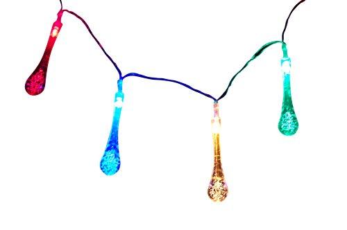 Teardrop Solar Outdoor LED String Lights Teardrop Solar Light