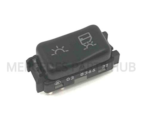 MERCEDES BENZ W124 R129 DOME LIGHT SWITCH CONVERTIBLES GENUINE OEM 1990-2001