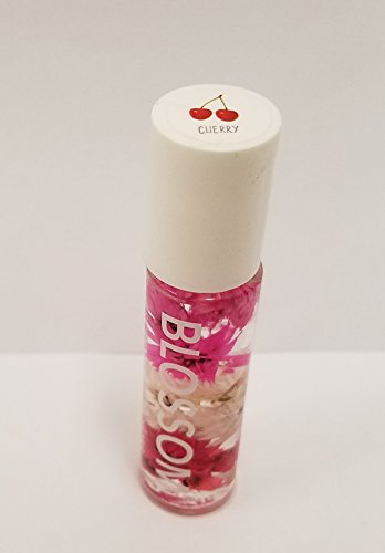 Blossom - Scented LIP GLOSS - Infused with real Flowers (Cherry)