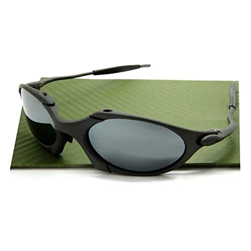 Top Sports UV400 Polarized romeo Sunglasses Aluminum x Metal Riding Driving (FROSTED GREY ()