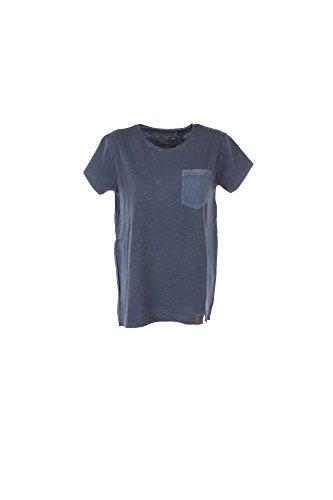 T-shirt Donna Penn-rich S Blu Wytee0392 Fj03 1/7 Primavera Estate 2017