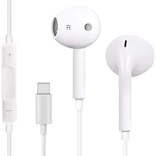 Earbuds & Headphones, TTM Stereo Earphones Wired Noise Isolating Headset Headphone with Microphone and Remote Control - White
