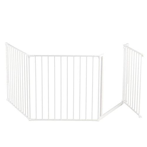 BabyDan Flex Gate Large 35.4-87.8''-White
