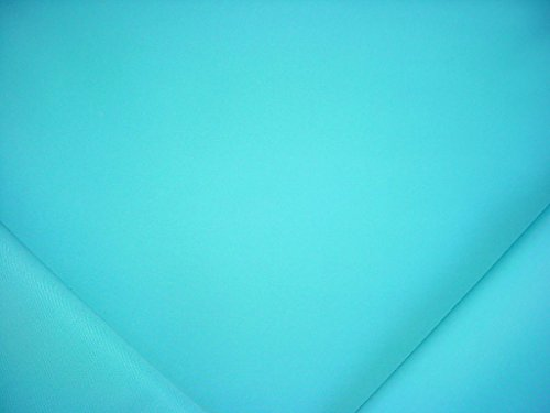 140RT11 - Turquoise Blue Acrylic Outdoor / Indoor Designer Upholstery Drapery Fabric - By the (Weave Upholstery Fabric)