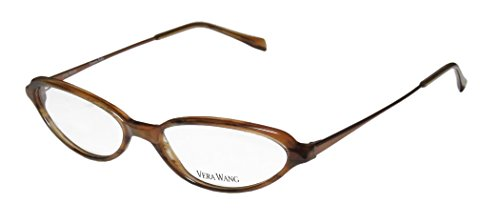 Vera Wang V47 Womens/Ladies Cat Eye Full-rim Eyeglasses/Eyeglass Frame (52-15-135, - Asian Eye Cat