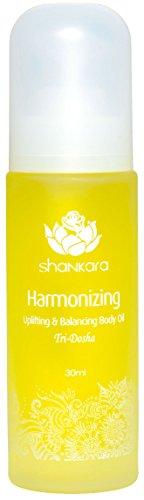 Shankara Harmonizing Body Oil - Uplifting Massage Oil for Hormonal Balance - Ayurvedic Daily Moisturizer - pH Balanced, Rich in Essential Oils, Vitamins, Antioxidants - For All Skin Types - 30 ml ()