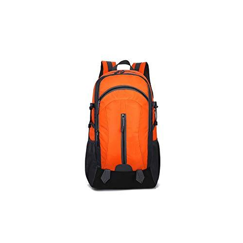 Backpack USB Charging Large Capacity Out Door Waterproof Casual Unisex Black Travel Backpacks,Orange