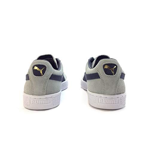 Suede Basses Graphite Puma Mixte Adulte Classic navy Sneakers 7ztx6Pn