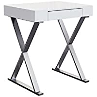 Whiteline Modern Living Imports Elm Writing Desk with Drawer