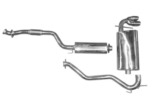 Cat Back Exhaust Kit for 2006 - 2009 Saturn Sky Single Performance Exhaust - Sky Cat Back Exhaust System